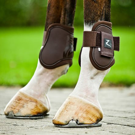 Horze ProTec Horse Boot Set - Size:Full Color:Brown