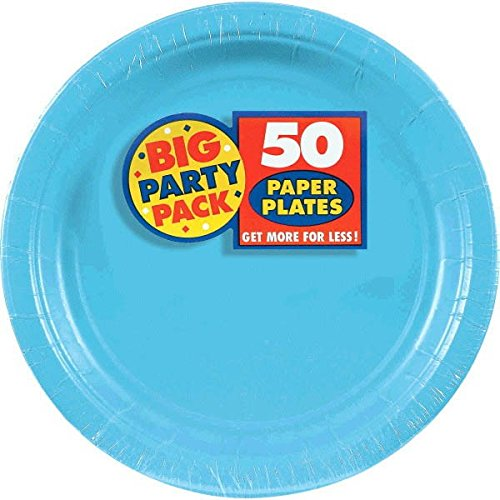 Big Party Pack Dinner Plates, 50 Pieces, Made from Paper