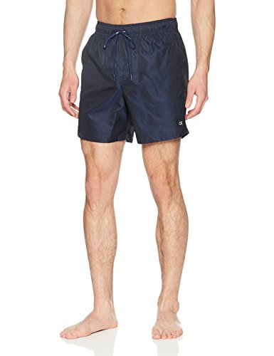 Calvin Klein Men's Euro Novelty Swim Trunk, Indigo, Medium