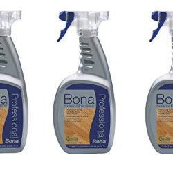 3 PACK Bona Pro Series Hardwood Floor Cleaner Ready To Use, 32-Ounce Spray
