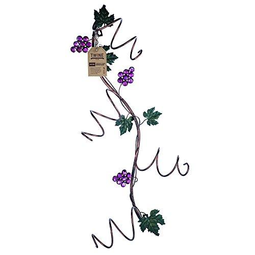Grapevine Vertical 4 Bottle Wine Rack by Twine