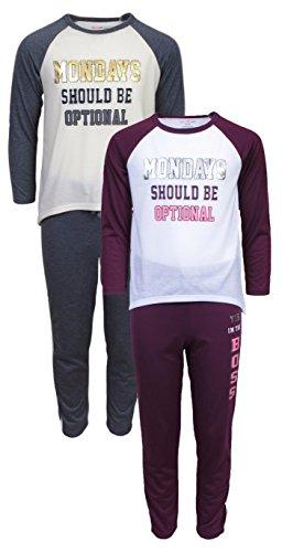dELiA*s 'dELiAs Girls Pajama Sleepwear Sets Long Sleeve Shirts With Pants