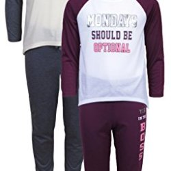 dELiA*s 'dELiAs Girls Pajama Sleepwear Sets Long Sleeve Shirts With Pants