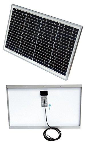 Solartech Power - SPM030P-WP - 72-Cell Polycrystalline Solar Panel, 33.8VDC, 0.89A