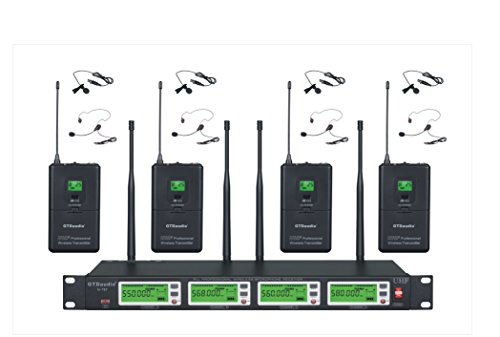 GTD Audio Diversity Wireless Microphone Lapel Lavaliere Mic