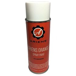 Ariens OEM Orange 12oz Touch Up Spray Paint Snow Blowers Throwers