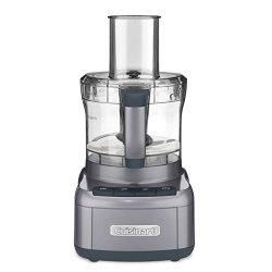 Cuisinart 8 Cup Food Processor, Gunmetal (Certified Refurbished)