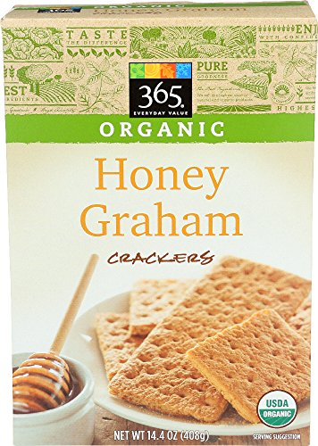 365 Everyday Value, Organic Honey Graham Crackers, 14.4 Ounce