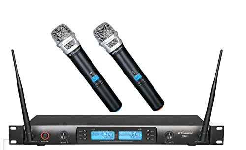 GTD Audio Channel UHF Professional Wireless microphone Mic System