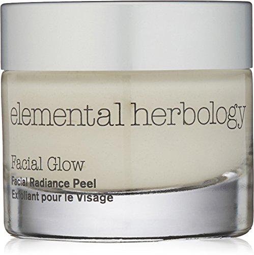 elemental herbology Facial Glow Facial Radiance Peel, 1.7 Fl Oz