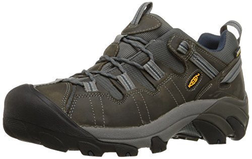 KEEN Men's Targhee II Hiking Shoe, Gargoyle/Midnight Navy - 9.5 D(M) US