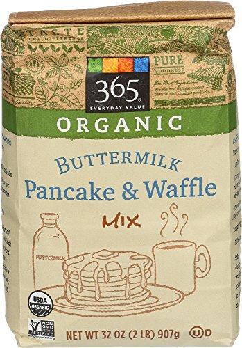 365 Everyday Value, Organic Buttermilk Pancake & Waffle Mix, 2 Pound