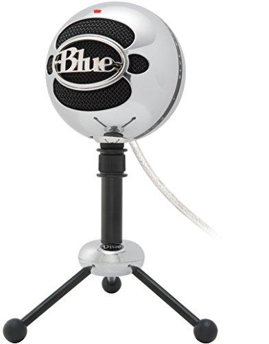 Blue Snowball USB Microphone (Brushed Aluminum)