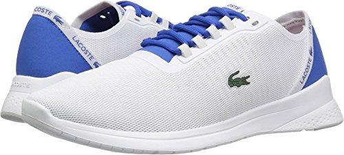 Lacoste Men's Lt Fit Sneakers,White/Blu Textile,10 M US