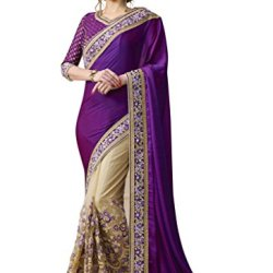 Aarah Women's Ethnic Handmade Festive Special Saree Free Size