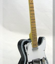 WAYLON JENNINGS Miniature Mini Guitar Country
