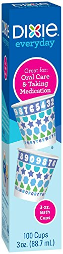 Dixie Bath Cups - 3 oz - 100 ct (Packaging May Vary)