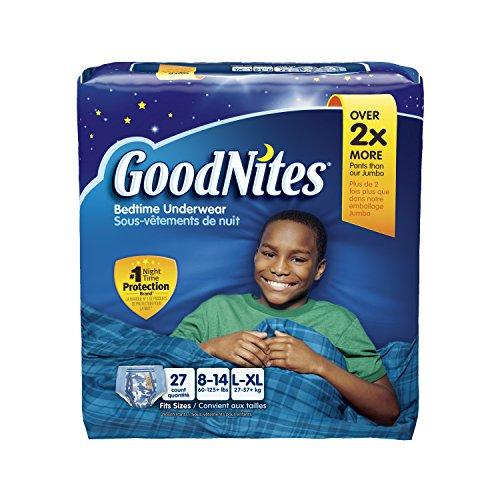Goodnites Underwear - Boy - Large/X-Large - 27 ct