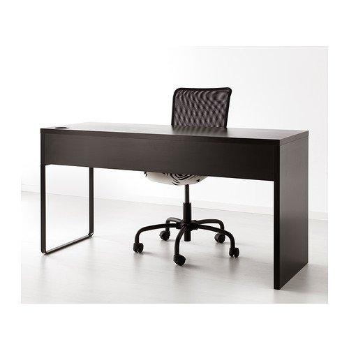 IKEA Computer Desk Workstation, Black-brown