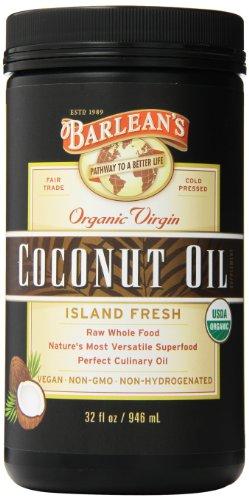 Barlean's Organic Virgin Coconut Oil, 32 Ounce