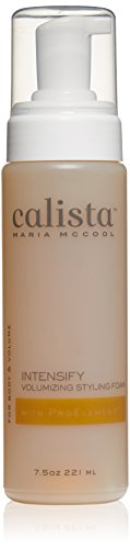 Calista Tools Intensify Foam, Volumizing Styling Foam, Wet Hair Styling, For All Hair Types, 7.5 oz.