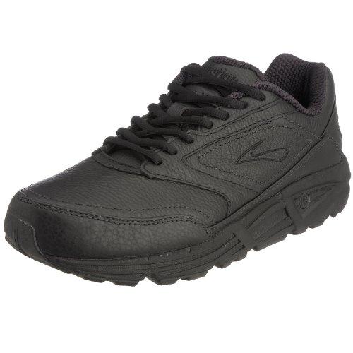 Brooks Men 's Addiction Walker Walking Zapato, color negro, talla 10 EE