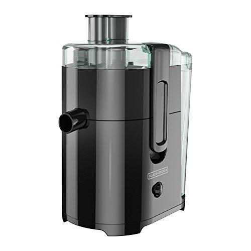 BLACK+DECKER 400-Watt Fruit and Vegetable Juice Extractor, Black