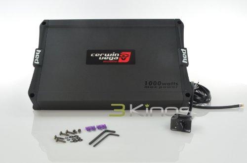Cerwin Vega HED31000.1D 1000W HED Series Class D Car Audio Amplifier