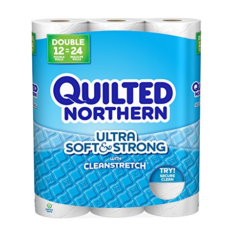 Quilted Northern Ultra Soft and Strong Bath Tissue, 12 Count