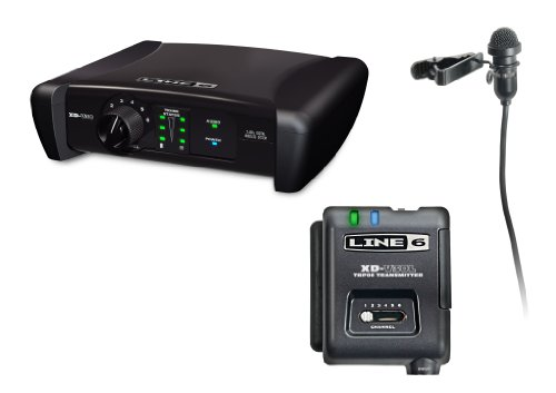 Line Digital Wireless Beltpack System with Lavalier Microphone