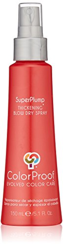 ColorProof Evolved Color Care Superplump Thickening Blow Dry Spray, 5.1 Fl Oz