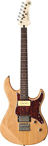 Yamaha Pacifica PAC311H YNS Solid-Body Electric Guitar, Yellow Natural