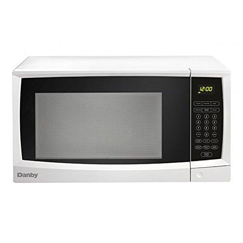 Danby 1.1 cu. ft. white capacity microwave