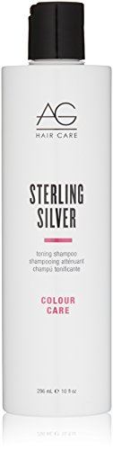 AG Hair Colour Care Sterling Silver Toning Shampoo 10 fl. oz.