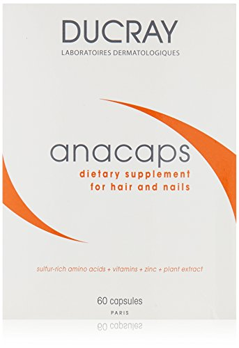 Ducray Anacaps Dietary Supplement, 60 count