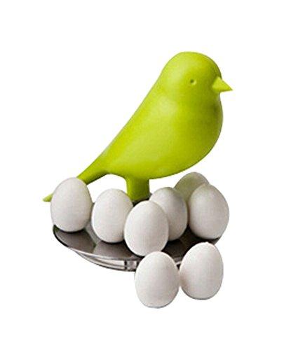 Creative Message Refrigerator Magnets Egg Magnet & Bird Holder (Random Color)