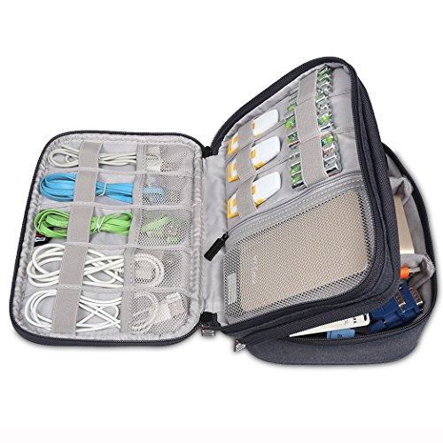 BUBM Travel Universal Cable Organizer Electronics Accessories Handbag Cable Sleeve For iPad mini