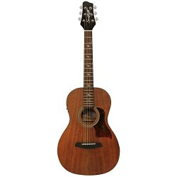 Sawtooth ST-MH-AEP Mahogany Parlor Acoustic Electric Guitar