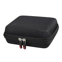 Hard EVA Travel Case for Jabra Freeway Bluetooth In-Car Speakerphone by Hermitshell
