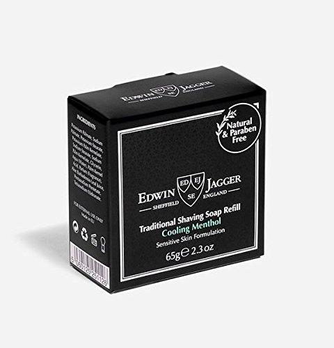 Edwin Jagger Cooling Menthol Shave Soap - Double Edge Wet Shaving DE Razor