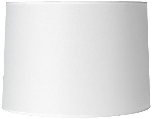 Hardback White Drum Paper Lamp Shade 15x16x11 (Spider)