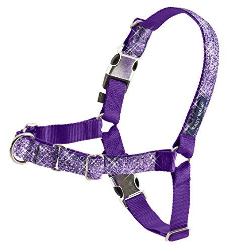PetSafe Bling Easy Walk Harness, Medium, Purple