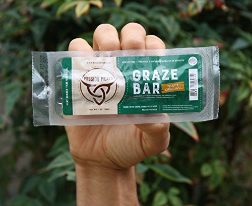 TASTY Grass-Fed Beef Bars Gluten Free MSG Free Nitrate/Nitrite Free Paleo Friendly