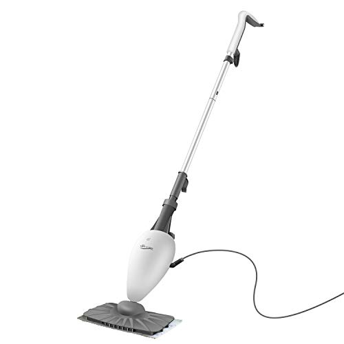 Steam Mops for Floor Cleaning Light n Easy S3101 Floor Steamer for Hardwood and Tile, Compact and Portable Steamer Mop for Tile, Grout, Laminate, Hardwood, Carpet, Professional Mop Steamer Cleaner