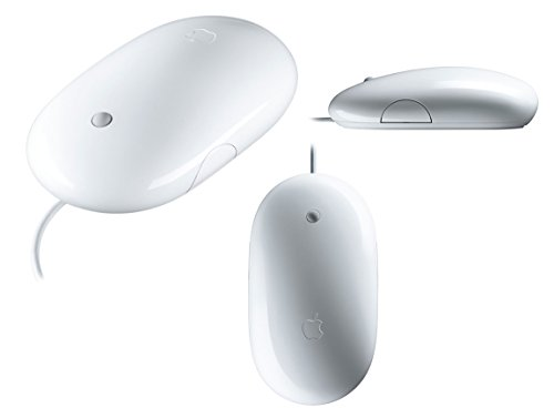 Apple Mighty Mouse - Wired Mouse for Apple iMac, Mac Mini, and Macbook Pro Computers
