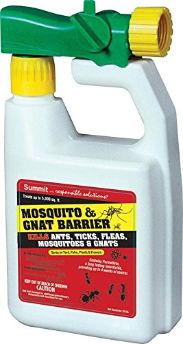 Summit...responsible solutions Summit Mosquito and Gnat Barrier Covers 5,000 Square Feet, 32fl.oz.