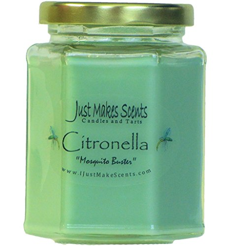 Citronella (Mosquito Repellant) Scented Blended Soy Candle for INDOOR