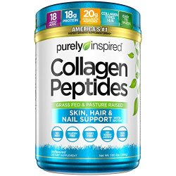 Purely Inspired Collagen Peptides, Unflavored, 1 Pound