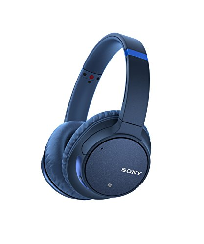 Sony Wireless Noise Canceling Headphones, Blue