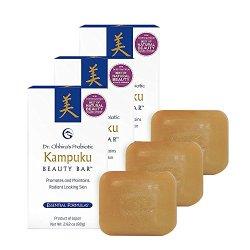Essential Formulas Kampuku Beauty Bar, 3 Pack